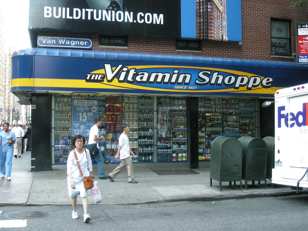 The Vitamin Shoppe (formerly Vitamin Shoppe Industries, Inc., stylized as theVitaminShoppe) is an American, New Jersey-based retailer of nutritional supplements. It also operated three stores in Canada under the name VitaPath from January until March