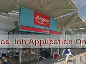 Argos Job Application Online