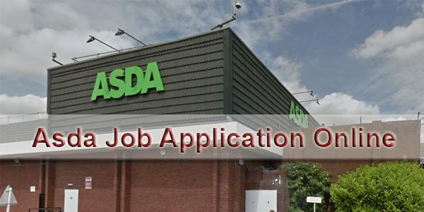 Asda Job Online Job Application Form 2018 Jobapplicationform365