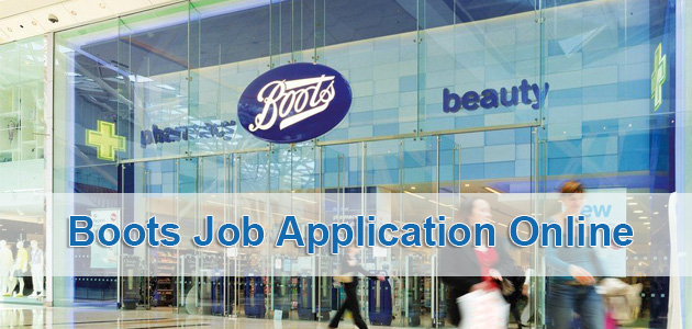 Boots Job Application Online