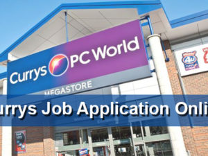 Currys Job Application Online