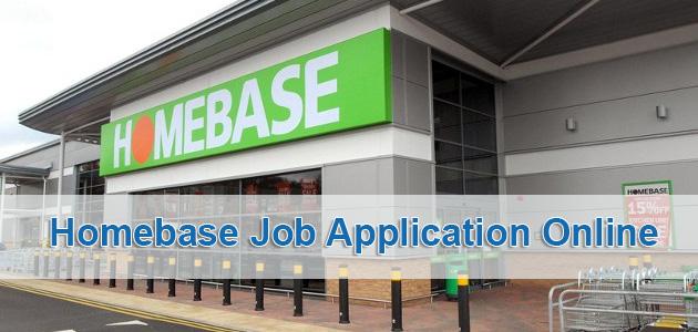 Homebase Job Application Online