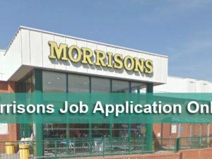 Morrisons Job Application