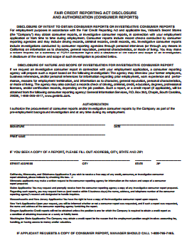 Victoria's Secret Job Application PDF 3