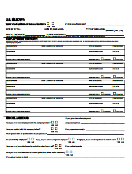 Giant Food Stores Job Application PDF - Page 2