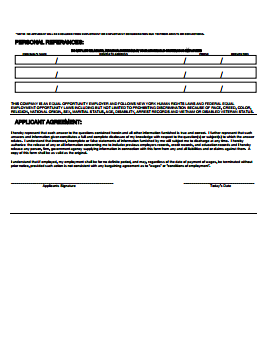 Giant Food Stores Job Application PDF - Page 3