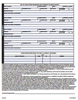 IBC Bank Job Application PDF - Page 2