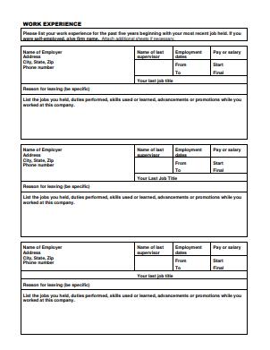 True Value Job Application PDF - Page 2